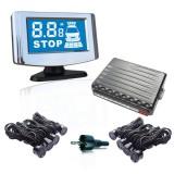 Парктроник AVS PS-528 (8 датчика, цветной LCD-Дисплей)