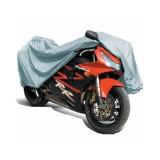 "Защитный чехол-тент на мотоцикл AVS MC-520 ""2XL"" 264х104х130см (водонепроницаемый)"