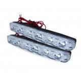 Дневные ходовые огни (DRL) AVS DL-6A (2.4W, 6 светодиодов х 2шт)