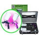 Набор пистолетов OTRIX PROFI (921H+400H+манометр+дюза)