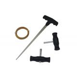 Набор для вырезки стекол (струна, шило, ручки) OTRIX
