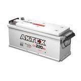 Автомобильный обслуживаемый аккумулятор гибридный АКТЕХ ТТ 220