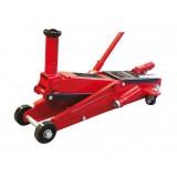 Домкрат подкатной  Torin Big Red T83003С  3т с вращающейся ручкой 360 градусов (h min 130мм, h max 410мм)
