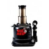 Домкрат бутылочный Torin Big Red TH810002 с двумя штоками, 10т низкий (h min 125мм, h max 225мм)