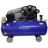 Компрессор поршневой Blue Air BA-95-500 с ременным приводом (ресивер 500л, 7,5kw, 380V, 1350L/min встроенный влагомаслоотделитель)