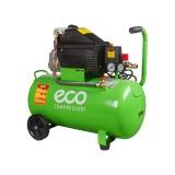 Компрессор ECO AE-501-1 поршневой с прямым приводом (1.8кВт, ресивер 50л, 230В)