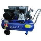 Компрессор Blue Air BA-55A-70 поршневой ременной  (1.5кВт, ресивер 70л, 220В)