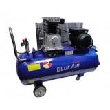 Компрессор Blue Air BA-65А-100 (10bar) двухцилиндровый ременной (2.2кВт, ресивер 100л, 220В)
