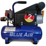 Компрессор Blue Air BA-9 поршневой с прямым приводом (0.7кВт, ресивер 9л, 220В)