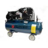 Компрессор Forsage TB265-100 двухцилиндровый ременной  (2.2кВт, ресивер 100л, 220В)