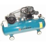 Компрессор Forsage TB290T-500 3-х поршневой с ременным приводом (7.5кВт, ресивер 500л, 380В)