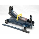 Домкрат подкатной Forsage TH22005C 2т с вращающейся ручкой (h min 140мм, h max 340мм) в кейсе