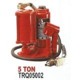 Домкрат бутылочный Torin Big Red Torin TRQ05002 пневмогидравлический 5т (h min 210мм, h max 430мм)