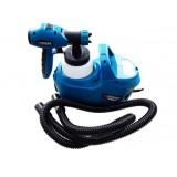 Краскопульт Forsage SG60-750F ручной электрический с компрессором и шлангом (220В, 750Вт, бачок 0.8л, сопло 1.8/2.6мм, вязкость до 60din)