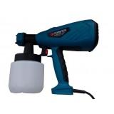 Краскопульт Forsage SG100-640H ручной электрический (220В, 640Вт, бачок 0.8л, сопло 1.8/2.6мм, вязкость до 100din)