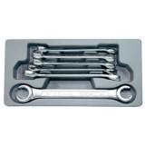 Набор разрезных гаечных ключей Force 5066 (6пр.)
