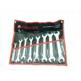 Набор ключей рожковых Forsage 5082P 8пр. на полотне