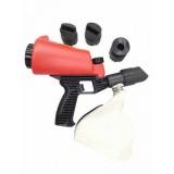 Пескоструйный пистолет Forsage HSB-I со встроенной емкостью для песка 1л и резиновыми насадками (4шт)