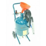 Передвижной пескоструйный аппарат Forsage SB5 напорного типа (бак 19л, 170-566л/мин, 4-8.5атм)