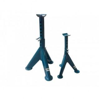Подставка Forsage TRF30151-1 ремонтная механическая с двойной фиксацией и упорными пятками 1,5т (h min-305мм,h max-450мм)