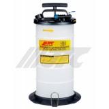 Емкость для выкачивания жидкостей через щуп JTC JTC-1050 ручной/пневматический