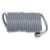 Шланг спиральный Luxi LX-1065 для воздуха 6,5х10мм 10м (PE) серый