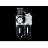 """Блок подготовки воздуха M7 SV-2330 (фильтр + регулятор + маслодобавитель) 3/8"""""""