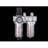 Блок подготовки воздуха M7 SV-2360(A) (фильтр + регулятор + маслодобавитель) 3/8