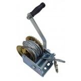 Лебедка ручная PARTNER PA-6744 барабанного типа(стальной трос) 360кг(4.2мм, 8м)
