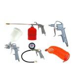 Набор пневмоинструментов Partner PA-8031K5-G 5пр. (краскопульт сопло 1.5мм)+доп.сопло 2.0мм