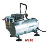 Миникомпрессор с фильтром Partner AS18 2.8bar, 23л/мин