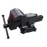 Тиски стальные поворотные Forsage 6540204 с наковальней  4дюйм. - 100мм