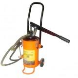 Нагнетатель смазки ручной Partner PA-2095 + дополнительный ремкомплект к штоковому механизму, 5кг (длина шланга 2м)