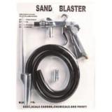 Пневмопистолет пескоструйный Partner SB-03 на блистере (2 сменных сопла)
