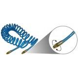 Шланг витой Partner AHC-48B полиуретановый 6.5х10ммх10м с резьбовыми наконечниками 1/4