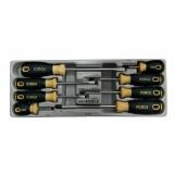 Набор отверток RockForce 2084  8пр.(SL 5,6x2,8.PH 1,PH 2x2,PH 3)