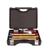 Набор инструментов рихтовочных для кузовных работ Rock FORCE RF-50713B 7пр. в кейсе