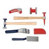 Набор инструментов рихтовочных для кузовных работ Rock FORCE RF-50719 9пр. в кейсе