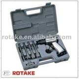 Пневмомолоток Rotake RT-3501K 4500 ударов/мин в комплекте с зубилами 9пр. 150мм