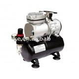 Миникомпрессор Rotake RT-089 безмасляный  Rotake RT-089 (ресивер 3л, производительность  23л/мин, рабочее давление 3-4bar)