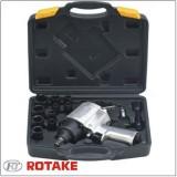 """Пневмогайковерт ROTAKE RT-5270K 720Нм с набором ударных головок 15пр. (9-27мм) 1/2"""""""